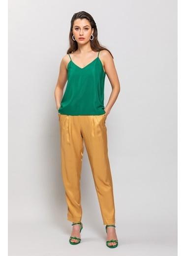 Ashleys Bluz Yeşil